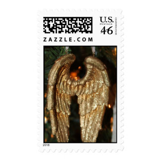 Christmas Angel Wings Stamps