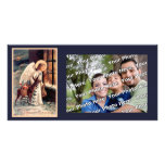 Christmas Angel With Deer Photocard Photo Card