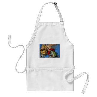 christmas angels adult apron