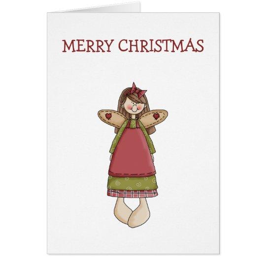Christmas Angels · Angel Card