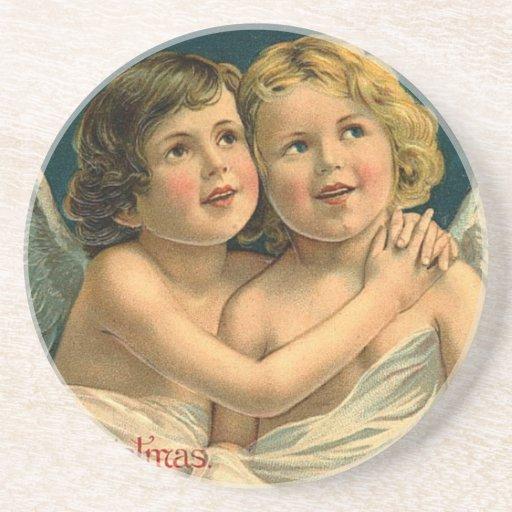 Christmas Angels Coasters