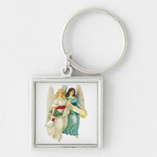 Christmas Angels Keychain