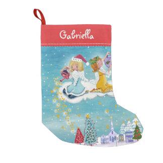 Christmas Angels Stars | Cristmas Stocking
