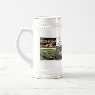 Christmas Animals Aussie Style - Personalizable Beer Stein