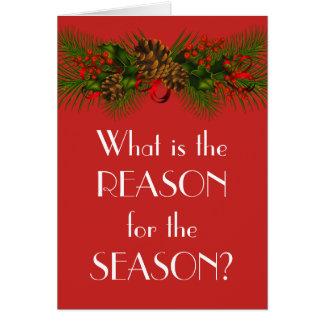 Christmas Antinatalist card