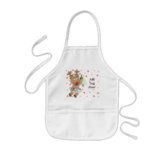 Christmas Apron for Kids Personalize