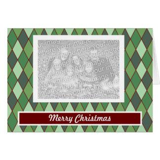 Christmas Argyle Card