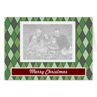 Christmas Argyle Cards