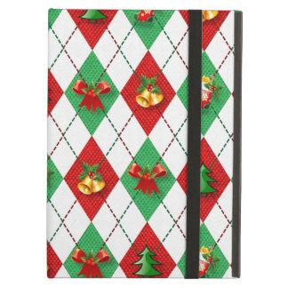 Christmas Argyle Case For iPad Air