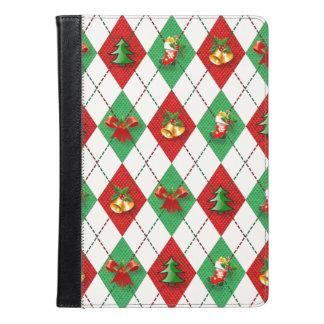 Christmas Argyle iPad Air Case