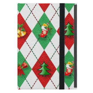 Christmas Argyle iPad Mini Case