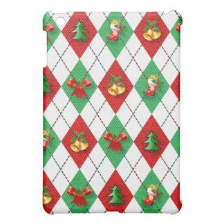 Christmas Argyle iPad Mini Case