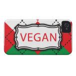 Christmas Argyle - Vegan Case-Mate iPhone 4 Cases