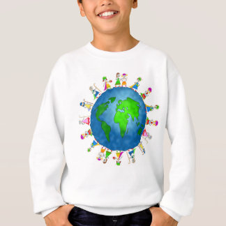 Christmas around the world Sweatshirt for kids