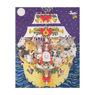 Christmas Arrival Canvas Print