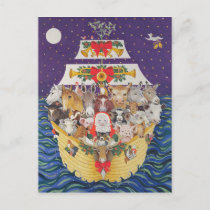 Christmas Arrival Holiday Postcard