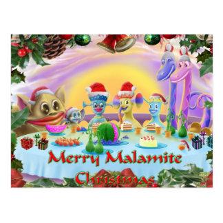 Christmas at Brimlest Palace Postcard