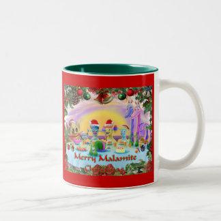 Christmas at Brimlest Palace Two-Tone Coffee Mug