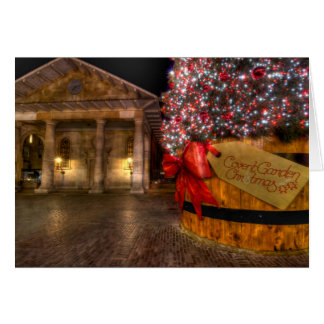 Christmas at Covent Garden, London Card