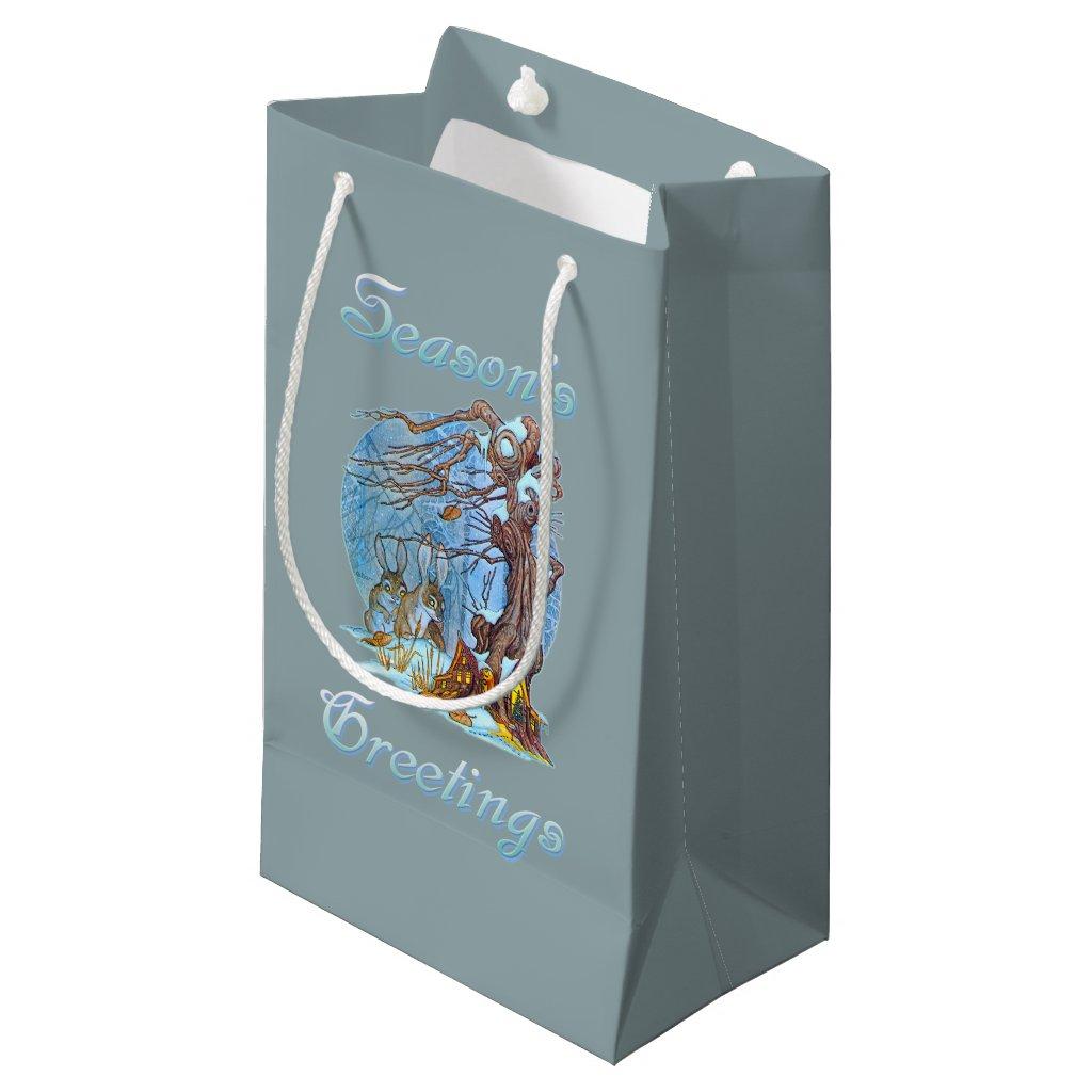 Christmas at Elf Hall Small Gift Bag