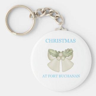 Christmas At Fort Buchanan 10 Keychain
