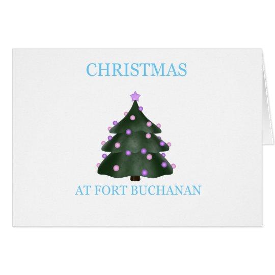 Christmas At Fort Buchanan 11 Card