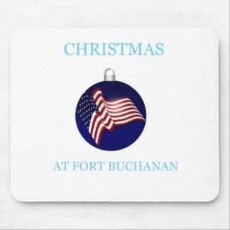Christmas At Fort Buchanan 14 Mouse Pad