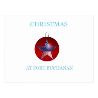 Christmas At Fort Buchanan 22 Postcard