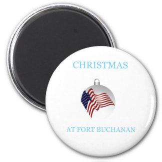 Christmas At Fort Buchanan 23 Magnet