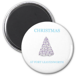 Christmas At Fort Leavenworth 15 Magnet
