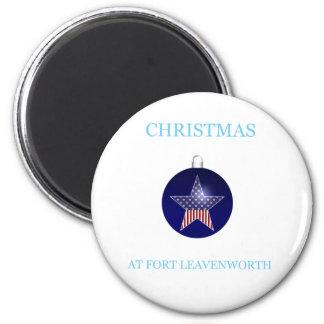 Christmas At Fort Leavenworth 17 Magnet