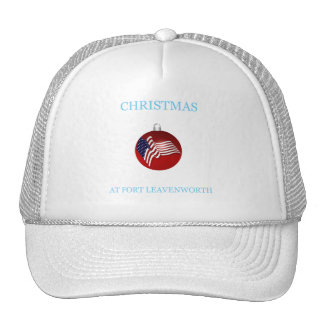 Christmas At Fort Leavenworth 19 Hat