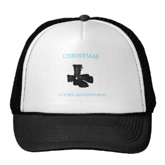 Christmas At Fort Leavenworth 1 Mesh Hat
