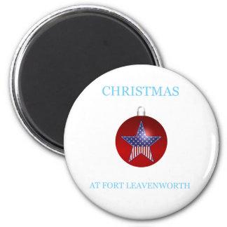 Christmas At Fort Leavenworth 20 Magnet