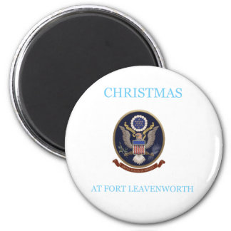 Christmas At Fort Leavenworth 2 Magnet