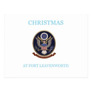 Christmas At Fort Leavenworth 2 Postcard