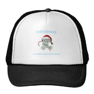 Christmas At Fort Leavenworth 3 Trucker Hats