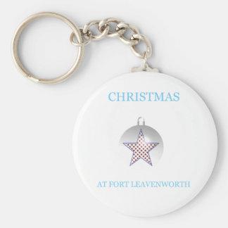 Christmas At Fort Leavenworth 4 Keychain
