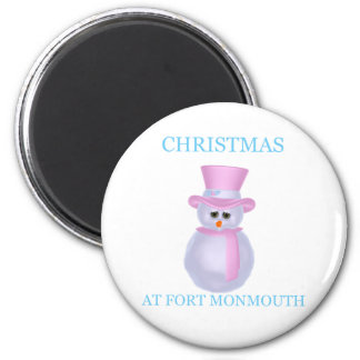 Christmas At Fort Monmouth Magnet