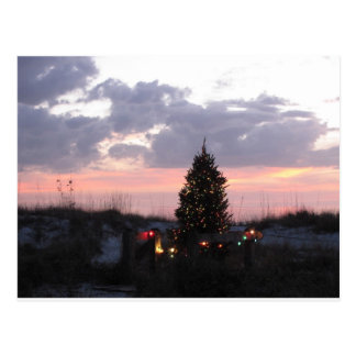 Christmas at Indian Rocks Beach, Florida Postcard