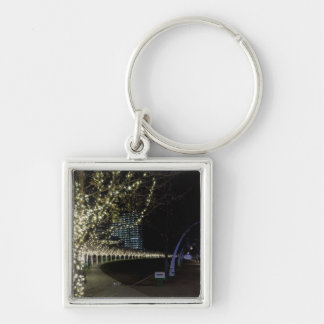 Christmas At Klyde Warren Park Keychain