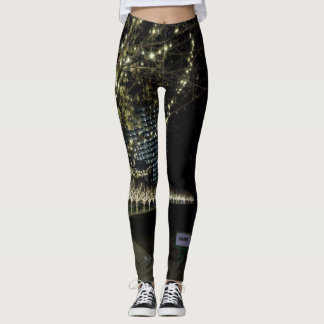 Christmas At Klyde Warren Park Leggings