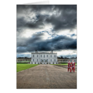 Christmas at Queen's House, Greenwich London Card