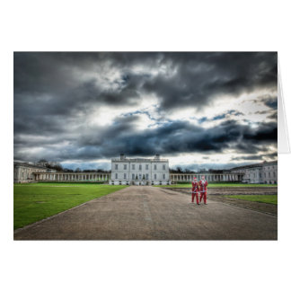 Christmas at Queen's House, Greenwich London Greeting Card