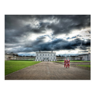 Christmas at Queen's House, Greenwich London Postcard