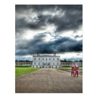 Christmas at Queen's House, Greenwich London Post Card