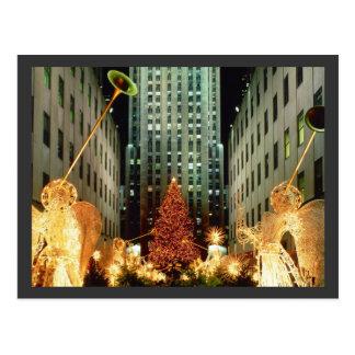 Christmas at Rockefeller Center Postcards