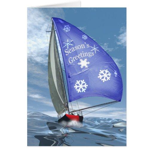 Christmas at Sea Cards