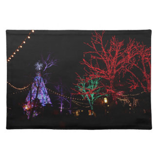 Christmas at Silver Dollar City Cloth Placemat
