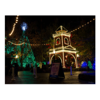 Christmas At Silver Dollar City Postcard